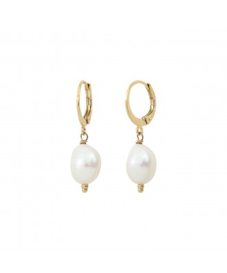 Dormeuses perles Baroques