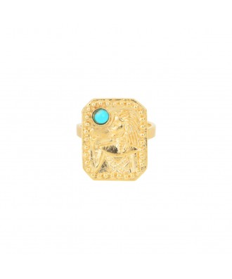 BAGUE ROMY TURQUOISE